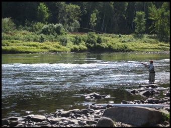 Spey Casting on the Miramichi