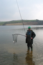A nice fish for Jim at Wimbleball